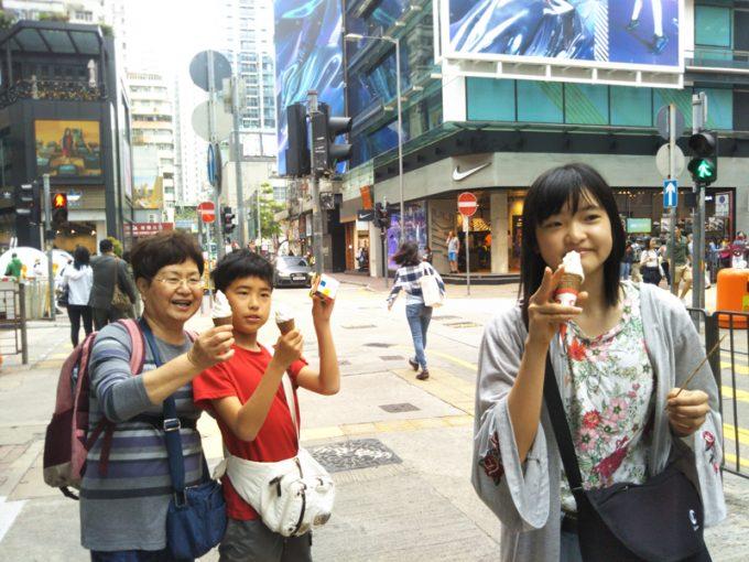 香港の街中は活気があって面白い!