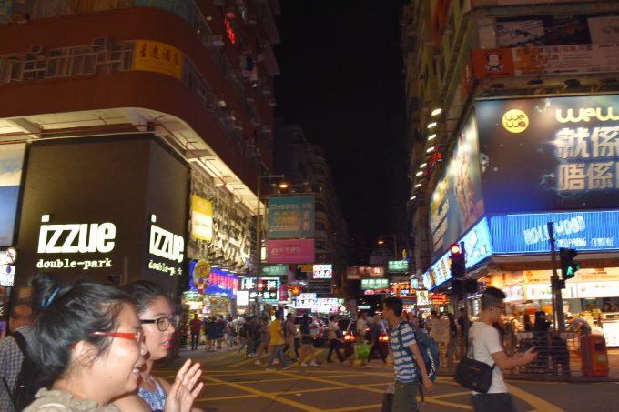 夜の香港も楽しい!