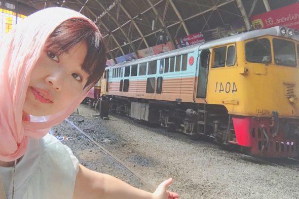 タイ旅行記「バンコクのレトロな電車」