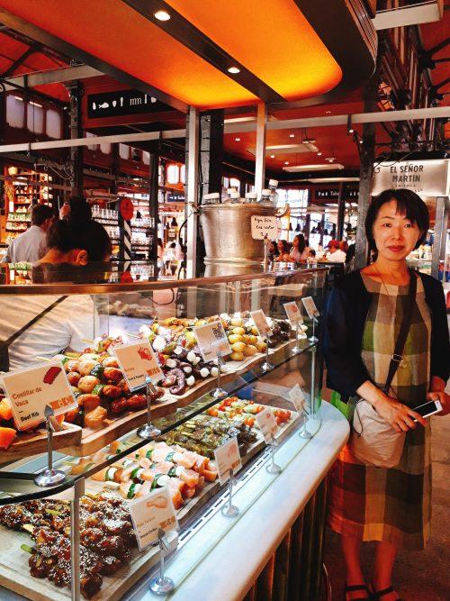 陳列まで美しいサンミゲル市場は食の宝庫!