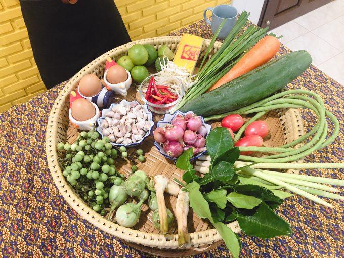 バンコクの新鮮な野菜