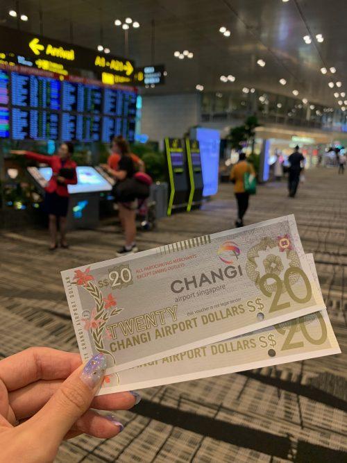 シンガポール空港は楽しい!