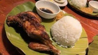 この旅初のフィリピン料理