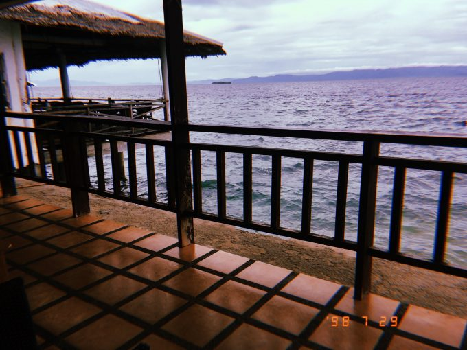 ホテルの目の前は海!