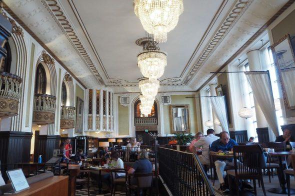 ホテル「セウラフオネ」のレストラン