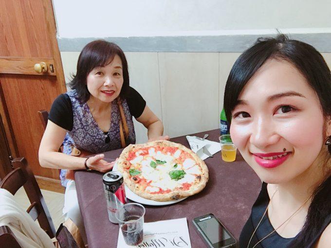 ナポリのピザ名店「ディマッテオ」 クリントン元大統領が訪れたらしく絶品でした!