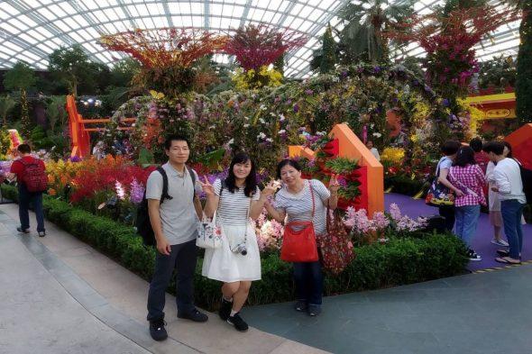 家族旅行でシンガポールへ