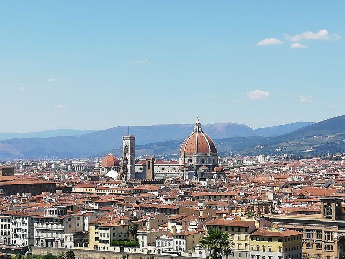 フィレンツェ ミケランジェロの丘より