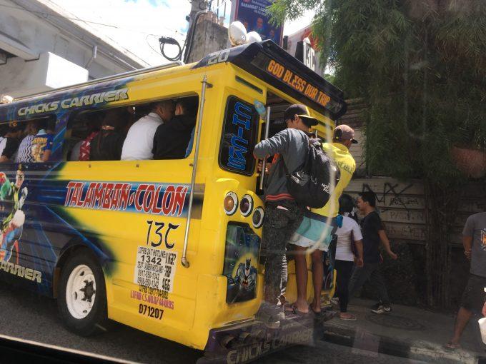 公共バスにチャレンジ!