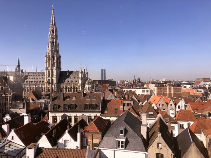 美しいブリュッセルの街並み