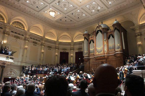 「ロイヤル・コンセルトヘボウ管弦楽団」のコンサート