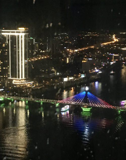 「SKY36」からのダナンの夜景