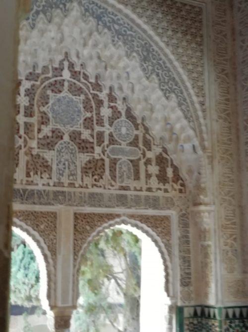 アルハンブラ宮殿のイスラム模様