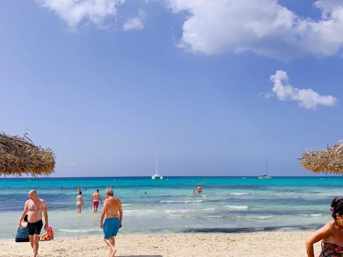 マヨルカ島のビーチ