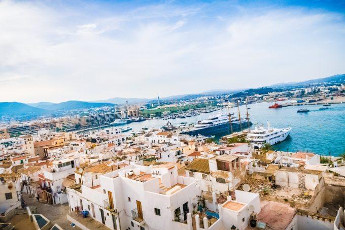 サンタ・ルシア要塞からの眺め