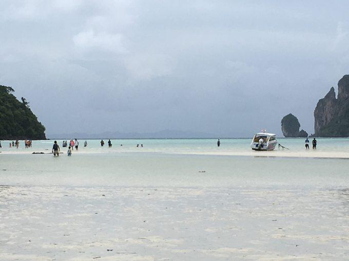 ピピ・ドン島のビーチ