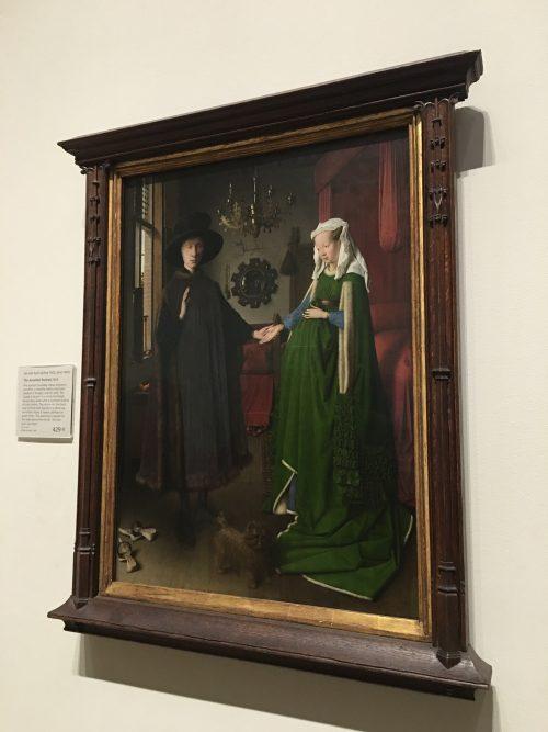 アルノルフィーニ夫妻の絵