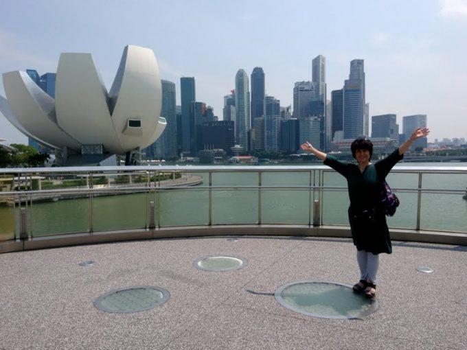本当に叶ったシンガポール旅行