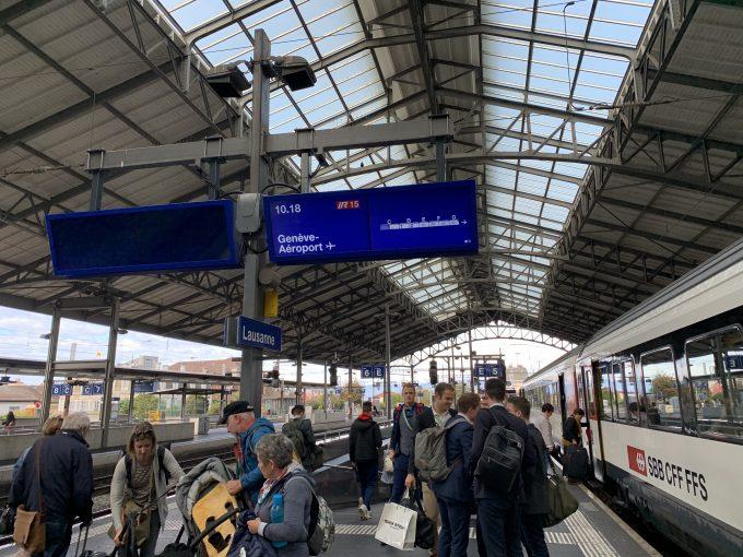 スイスの鉄道旅、良かったです!