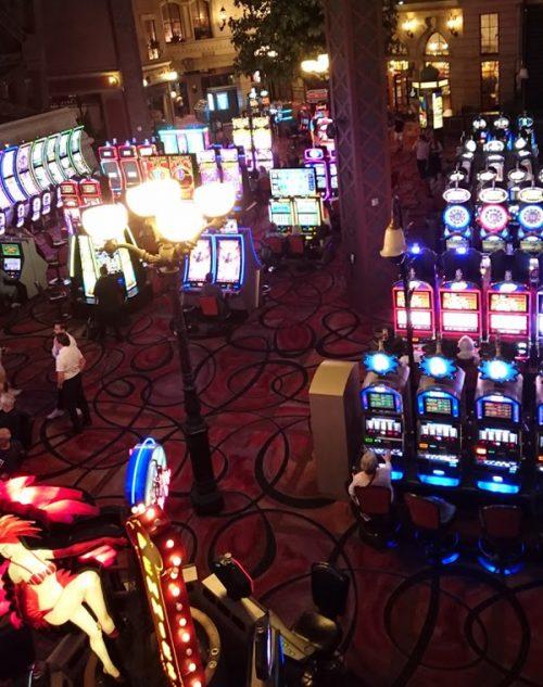 遊び尽くしたホテルに併設のカジノ