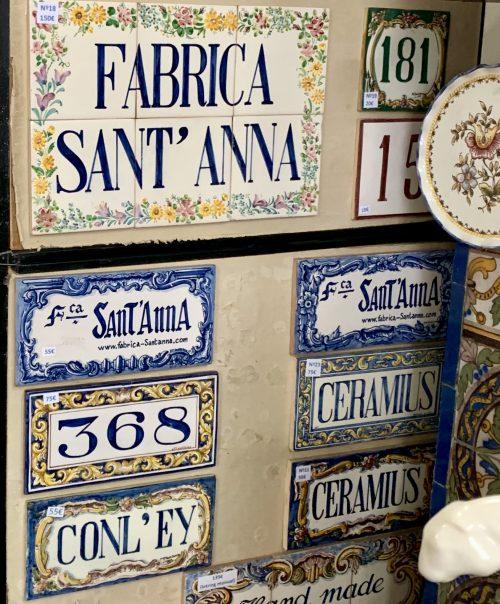 アズレージョ工房「サンタナ」で我が家の表札をオーダーメイド!1か月ほどで郵送で届けてくれます