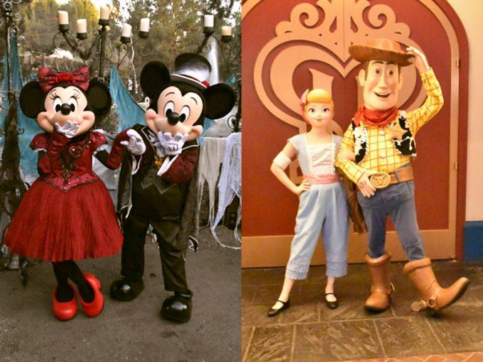 ミッキーとミニー/ウッディとボー・ピープ