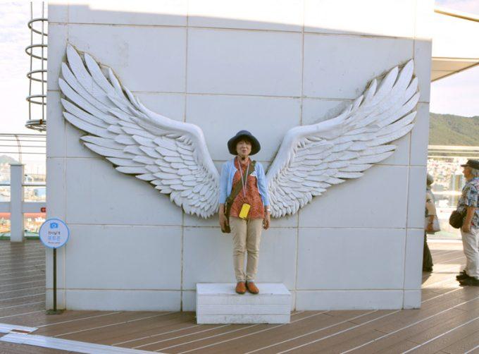 天使になれるオブジェ