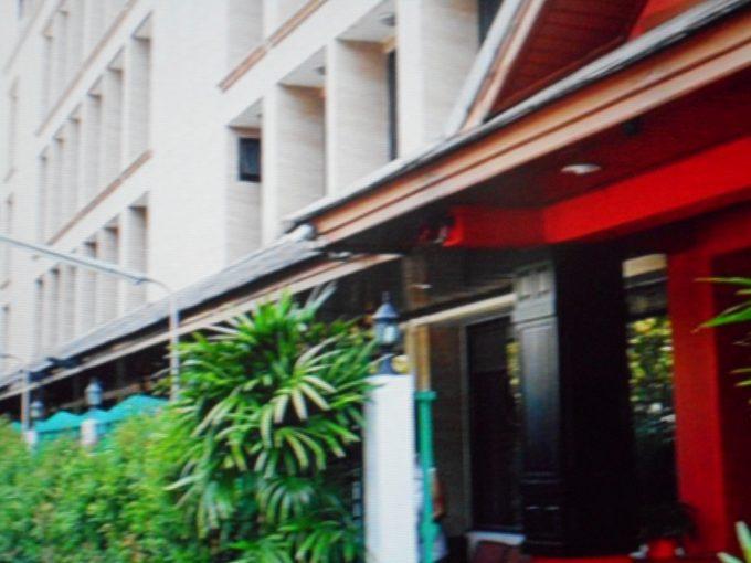 滞在先ホテル「ブーンシリー・プレイス・バンコク・ホテル」