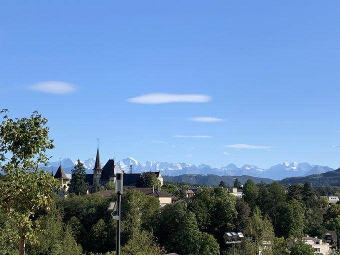 美しいスイスの風景