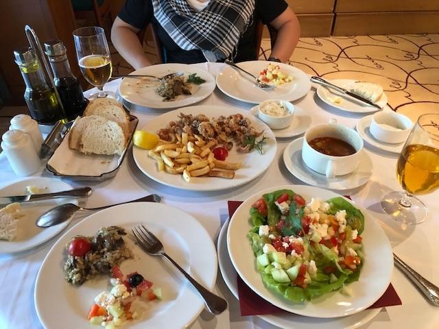 ハイキングの後は、プリトヴィツェ最後の晩餐!