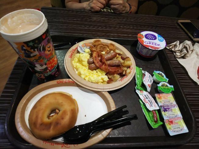 オールスターミュージックリゾートの朝食