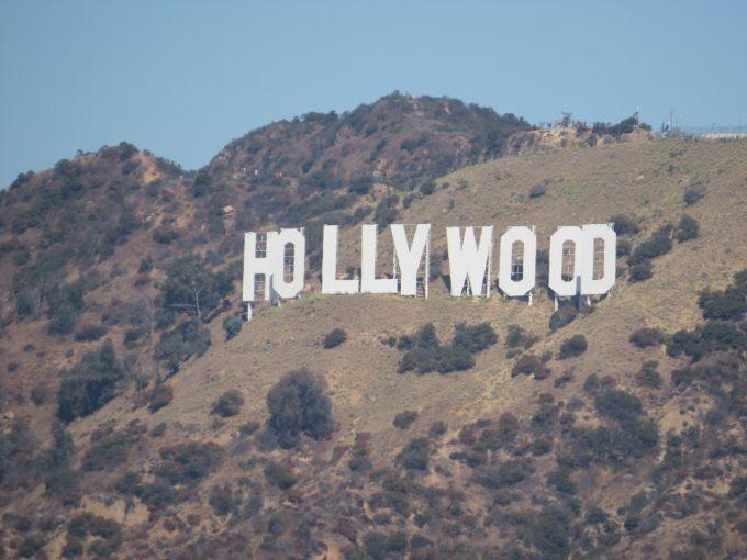 グリフィス天文台から撮影したハリウッドサイン