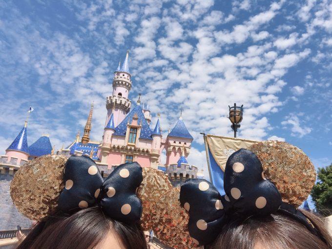 姉と恒例の耳だけ写真(笑)!お天気にも恵まれ最高でした!