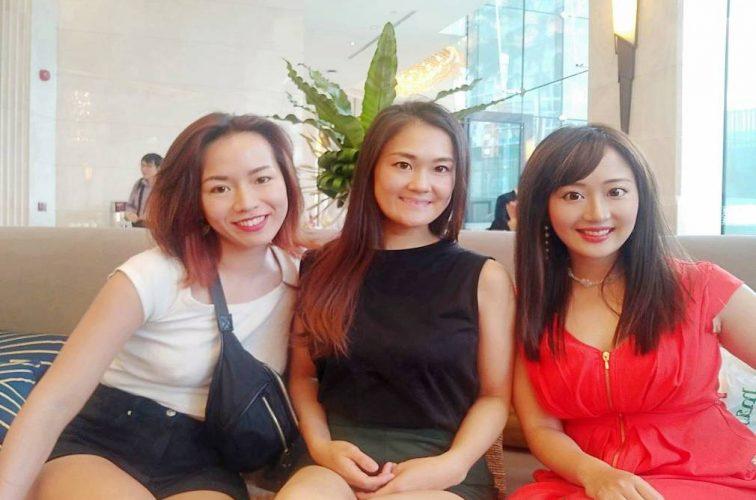 学生時代の友人と バンコクの夜を満喫! ハイソな女子旅!