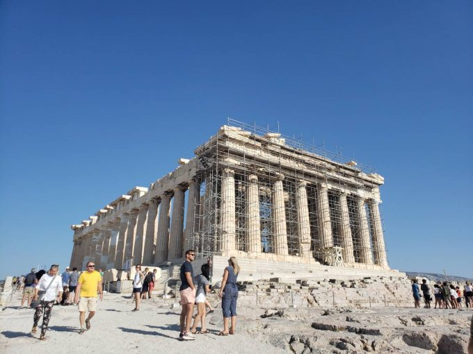 想像を超える大きさと美しさの「パルテノン神殿」
