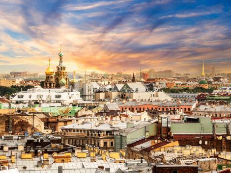 サンクトペテルブルク:街並み