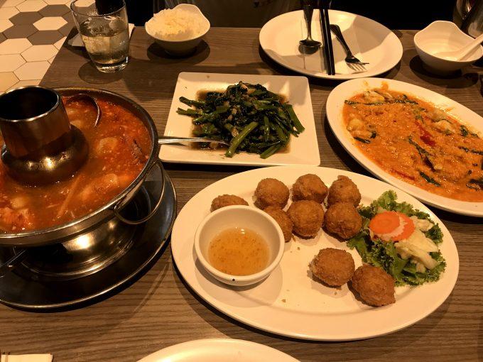 バンコク市内のレストラン「ソンブーン」