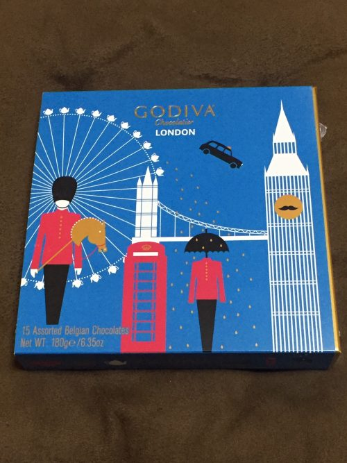 ロンドンらしい!お土産にぴったりゴディバのチョコレート