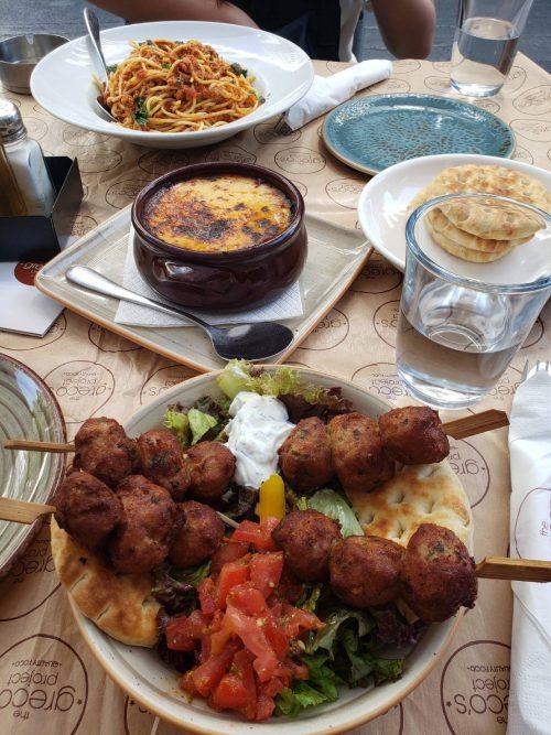 ギリシャ料理の美味しさにびっくり!