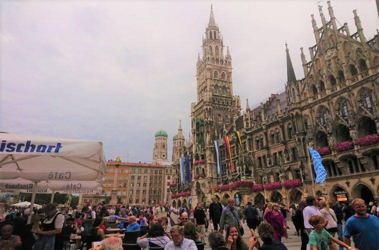 ミュンヘン中心街