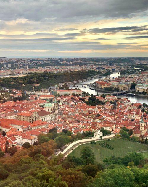 絵画のように美しいプラハの街並み