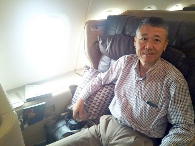 シンガポール航空のビジネスクラスは最高!