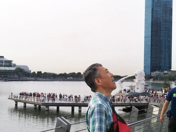 シンガポール観光の定番写真をパシャリ!