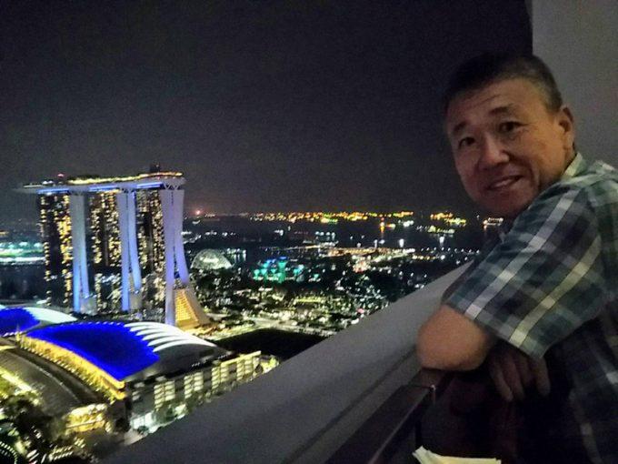 シンガポールらしい夜景をばっちり楽しめます!