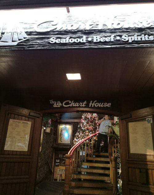 ガイドさんおすすめの「Chart House(チャート・ハウス)」