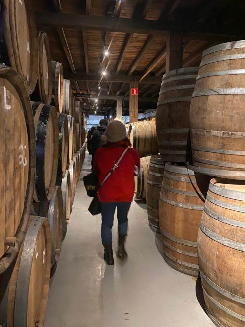 カンティヨン醸造所内