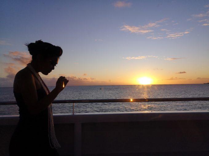 お洒落な船上から絶景を楽しめます!