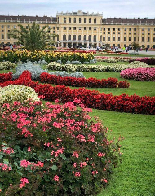 華麗な佇まいの「シェーンブルン宮殿」