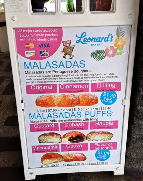 マサラダの人気店「Leonard's Bakery (レナーズベーカリー)」