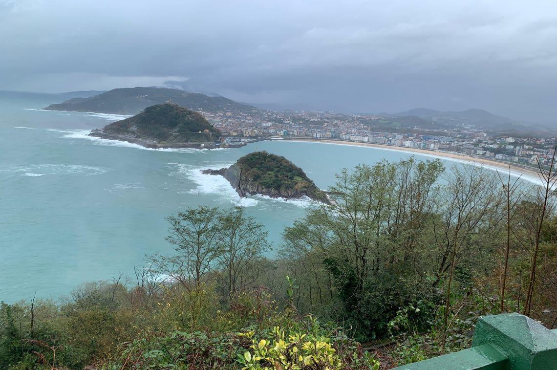 サンセバスティアン「展望台からの眺め」